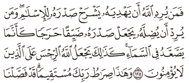 Tafsir Surat Al-An'am Ayat 121, 122, 123, 124, 125