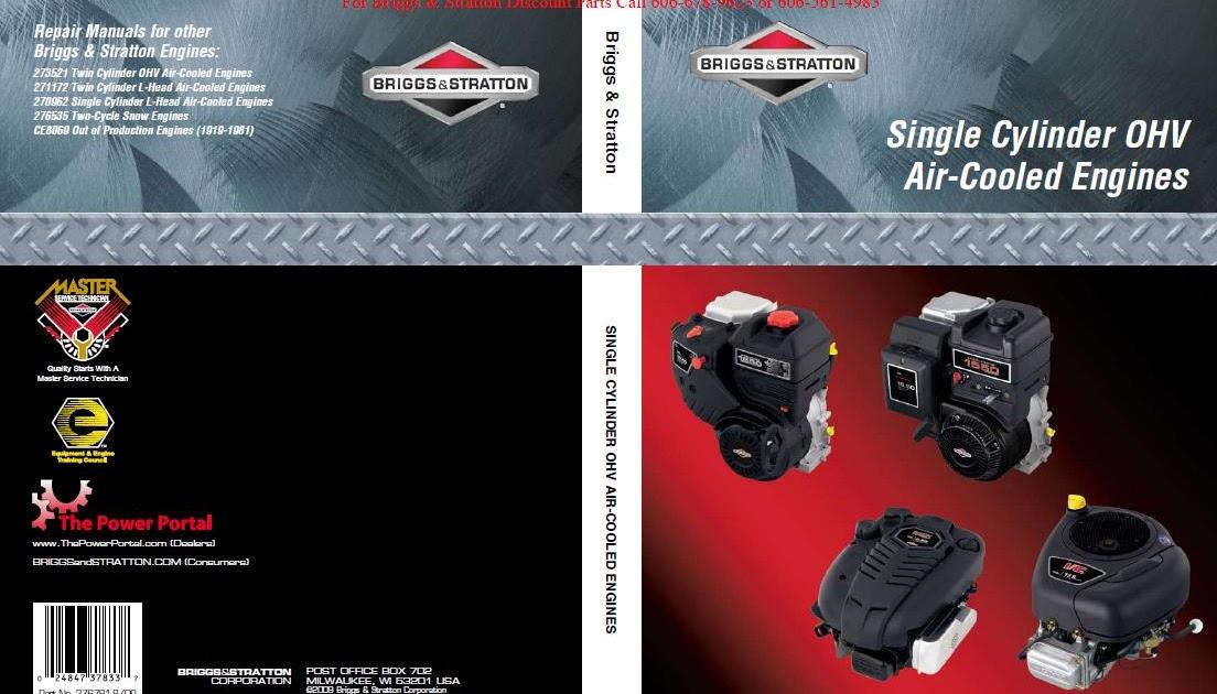 Briggs 276781 Manual Free Download