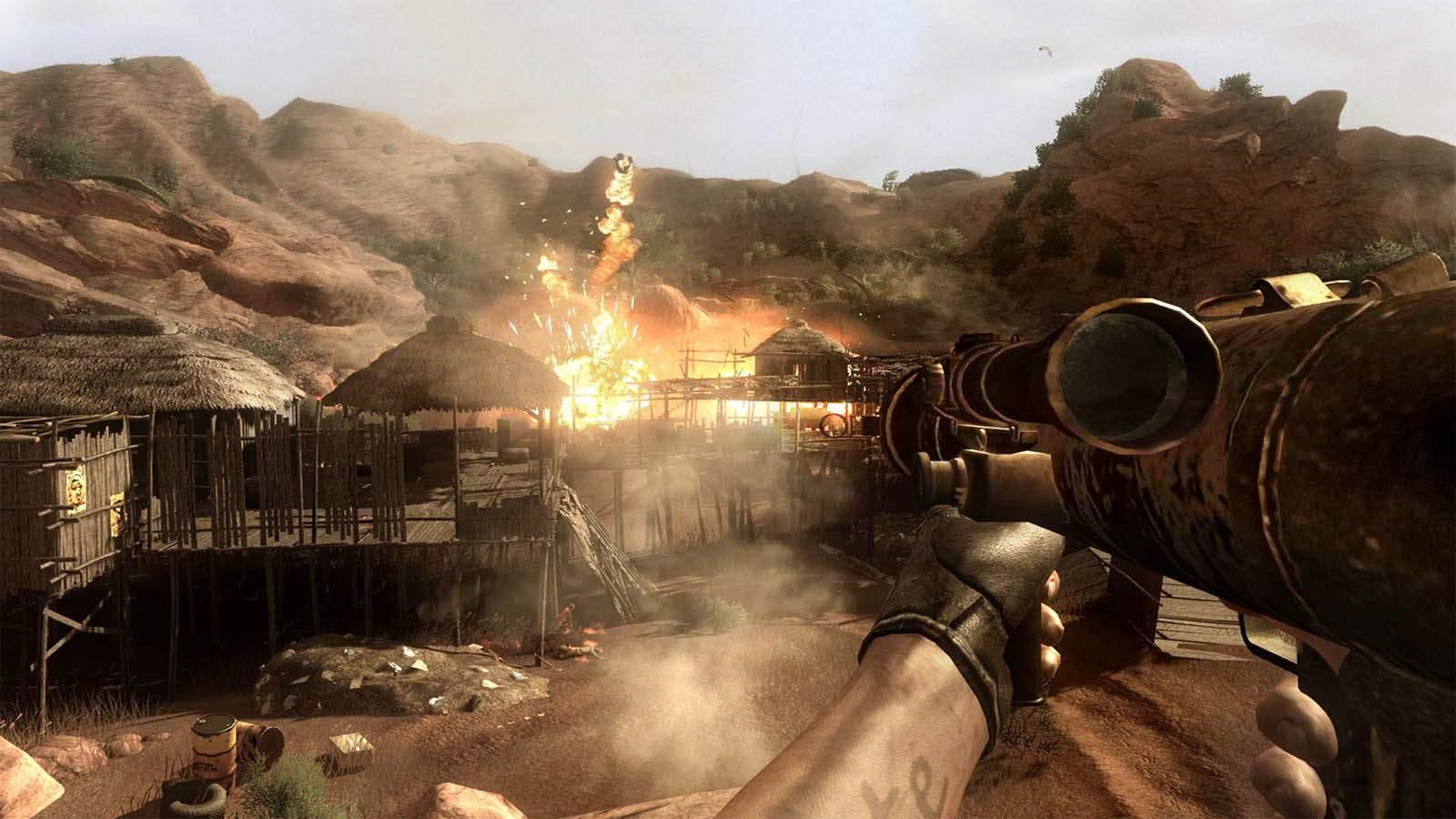تحميل لعبة Far Cry 2 مضغوطة برابط واحد مباشر كاملة مجانا