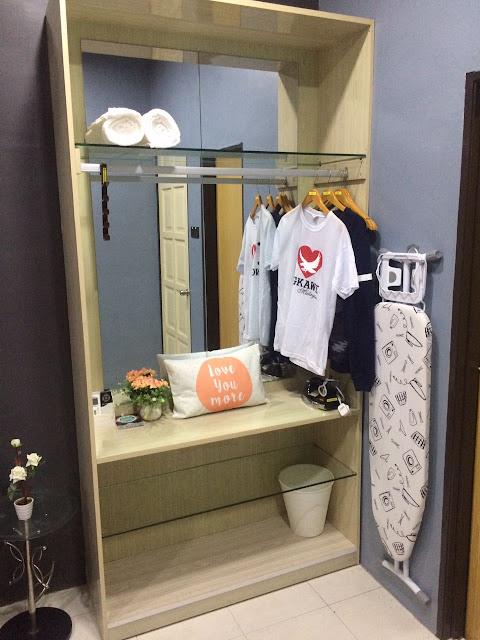 Adni Suite Homestay Seri Manjung Lumut | Ward Drobe