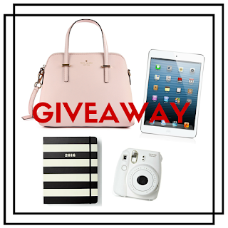 Enter to win the Kate Spade / iPad Mini Instagram Giveaway. Ends 5/19