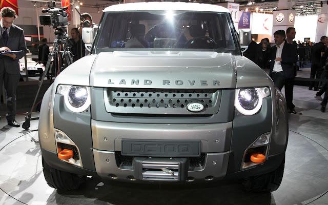 2016 Land Rover Defender DC100