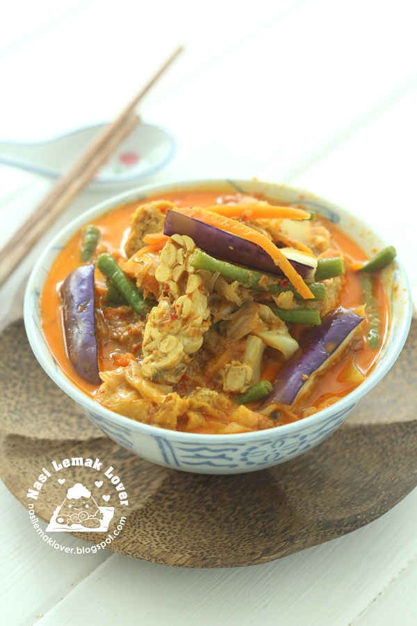Sayur Lodeh ( Malay style of vegetables curry ) ???????