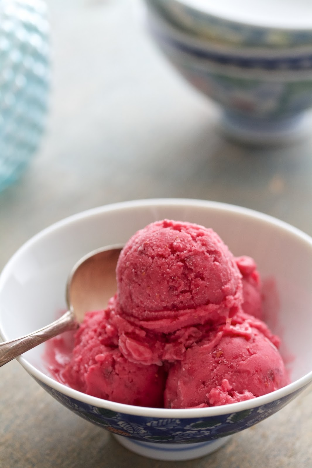 Tangy Raspberry Sherbet Guest Post Will Cook For Friends