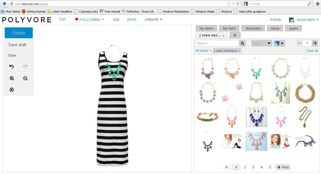 e58ae22c018 How To Create A Fashion Mood Board Using Polyvore {Polyvore Tutorial ...