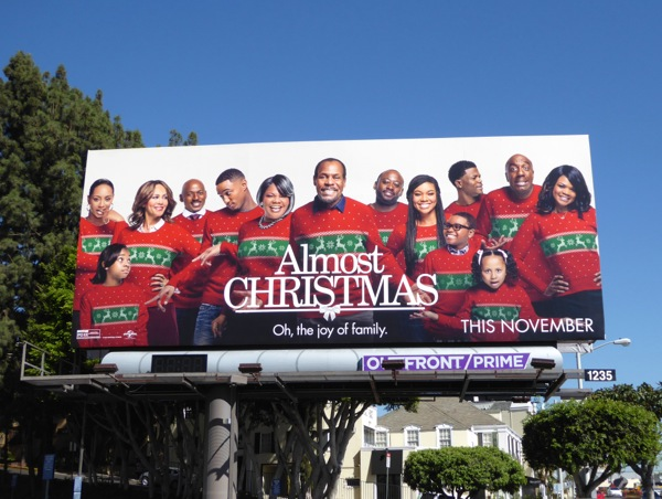 Almost Christmas Movie.Daily Billboard Almost Christmas Movie Billboards