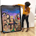 Genevieve Nnaji Shows Off Painting That Depicts Her As A 'Queen'