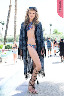 Bold Hollywood Celebrities Models Singers Exposing their Lovely   Legs at REVOLVE Festival at 2017 Coachella in Indio