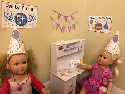 Free American Doll printables