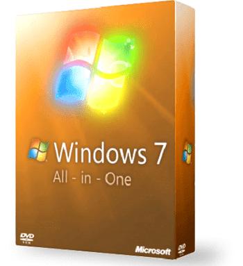 جميع إصدارات ويندوز 7 ايزو مجمعة اسطوانة واحدة Microsoft Windows 7 SP1 AIO 2019 Free Download