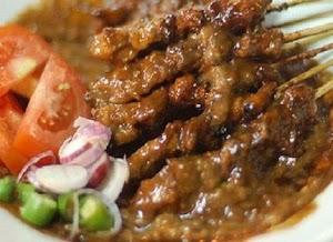 Resepi Sate Ayam Kuah Kacang