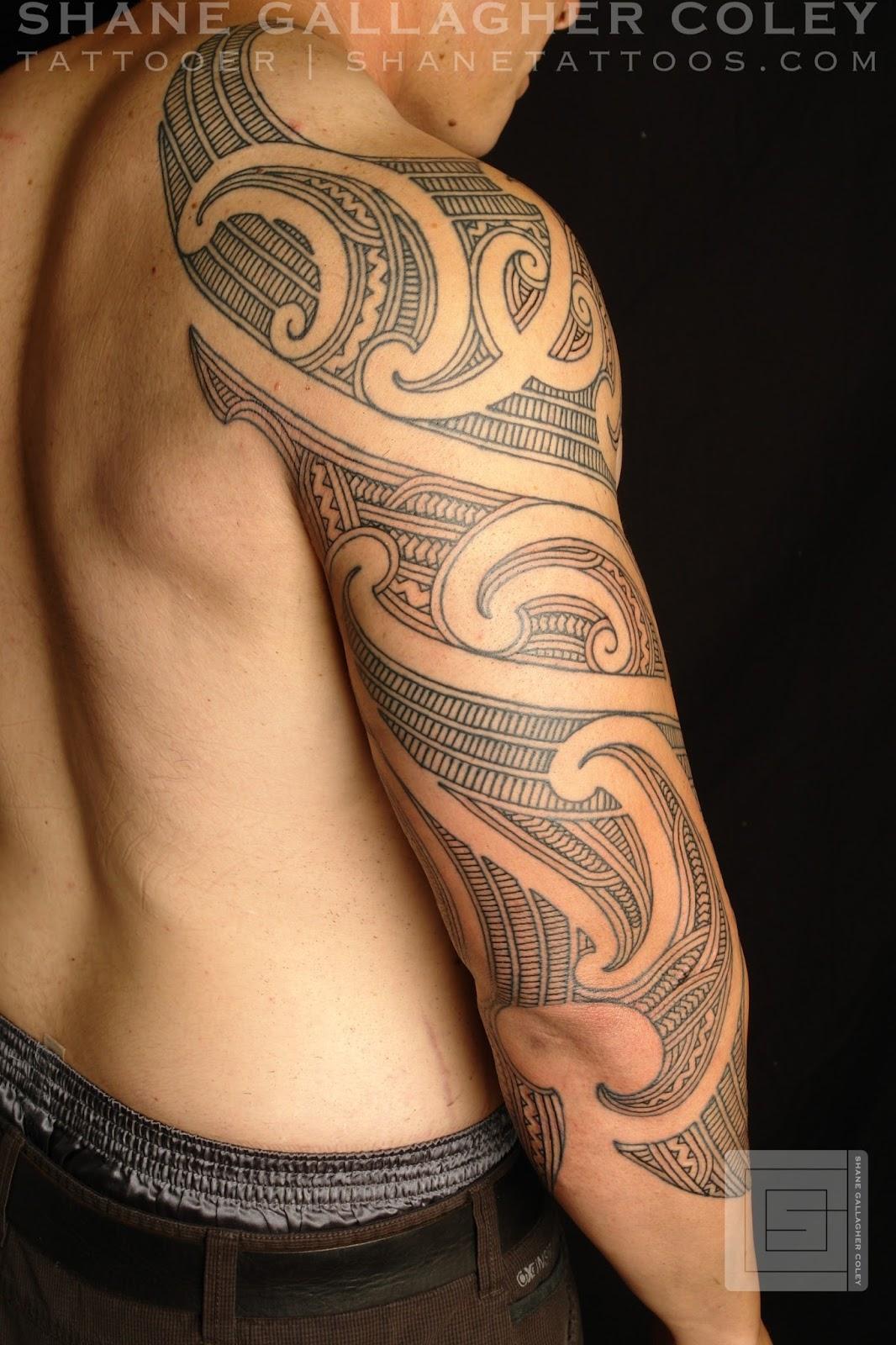 Moko Tattoo Maori: MAORI POLYNESIAN TATTOO: Maori Sleeve Ta Moko/Tattoo