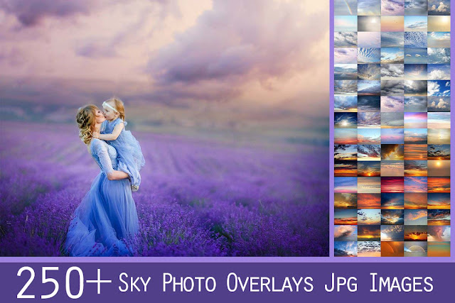 250+ Sky Photo Overlays
