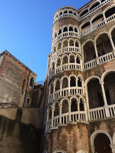 Scala Contarini del Bovolo in Venice