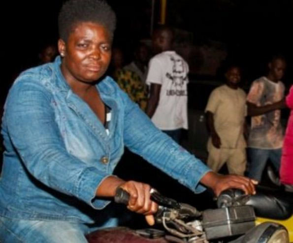 Meet Igbo woman who rides okada in Lagos, says it's her destiny
