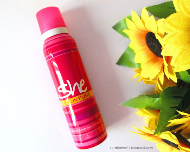 she...is fun perfume and deodorant spray review