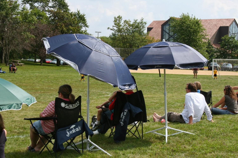 Portable Beach Chair With Umbrella Church Chairs For Sale Joe Shade Sports