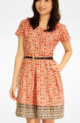 Dress batik santai untuk anak muda gaya terbaru
