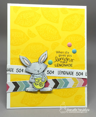 Freshly Squeezed | Newtons Nook Designs | Card Created by Danielle Pandeline