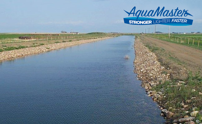 AquaMaster Canal Liner Geomembrane
