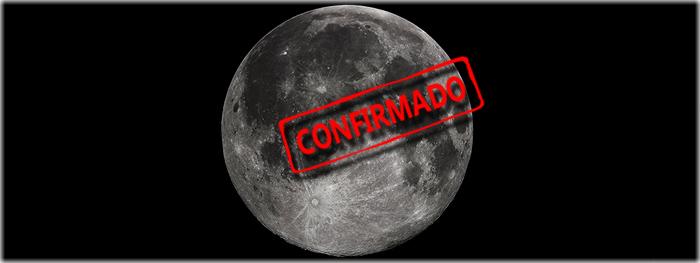 gelo de água foi confirmado na Lua