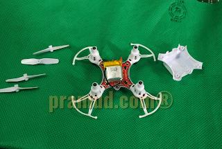 hasil bongkaran casing drone syma X12S