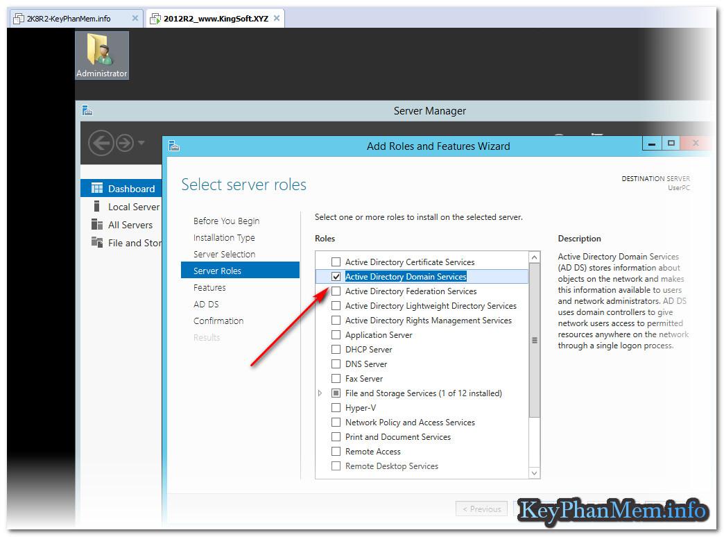Hướng dẫn nâng cấp Domain Controller - DC trên Windows Server 2012 và R2