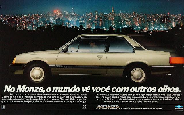 Chevrolet Monza SL/E três volumes 2 portas