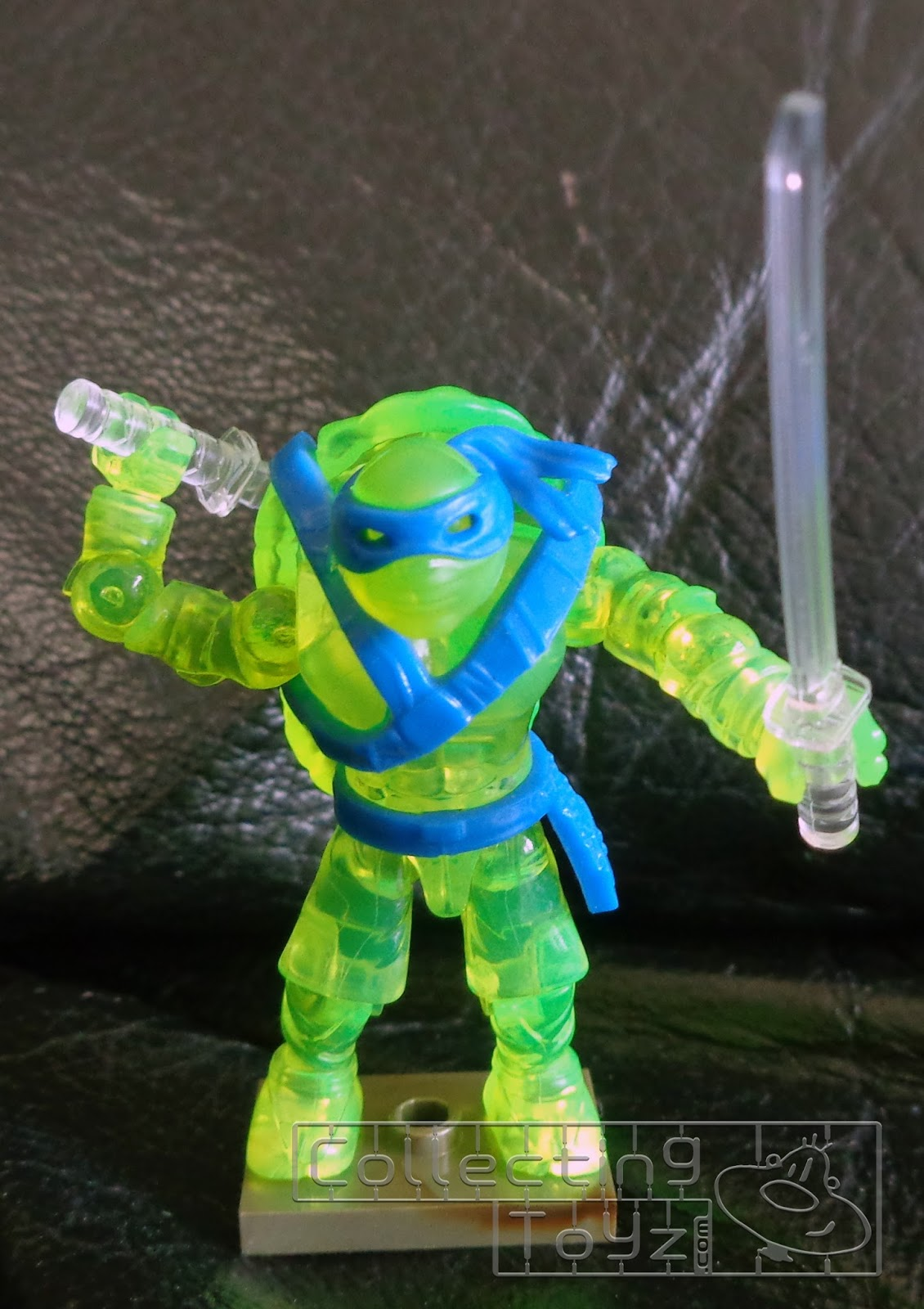 Collecting Toyz Mega Bloks Tmnt Out Of The Shadows Leo