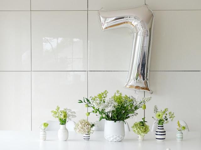 Deko-Idee mit Blumen quer durch Garten, Laden und Balkon - www.mammilade.blogspot.de - 5 Lieblinge, Momente und Motive der Woche