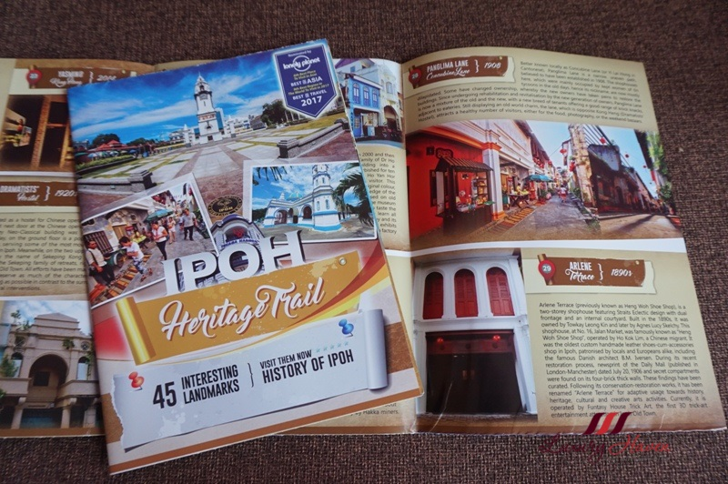 tourism perak malaysia ipoh heritage trail guide