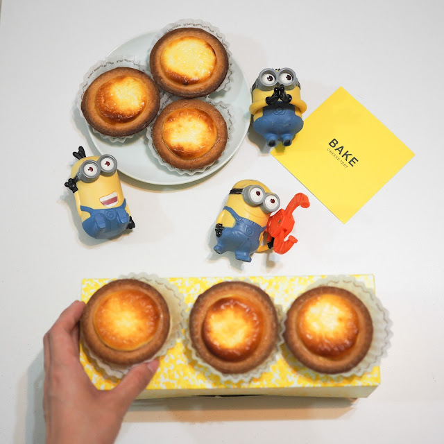 best cheese tart singapore review