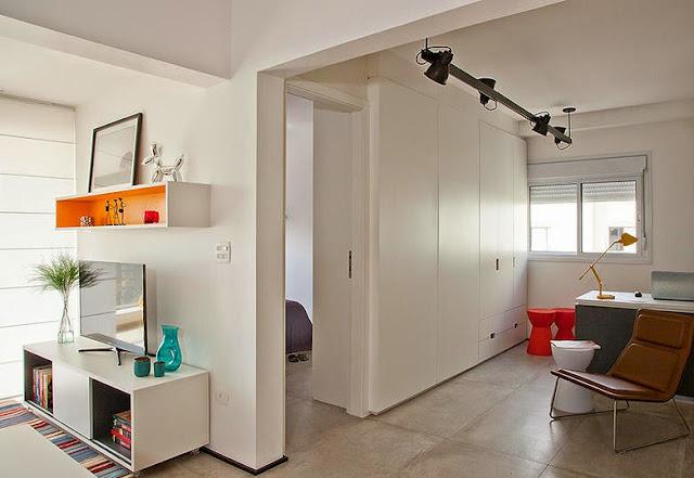 ideias para pequeno apartamento, apartamento decorado, blog achados de decoração