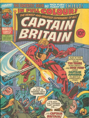 Marvel UK, Captain Britain #3