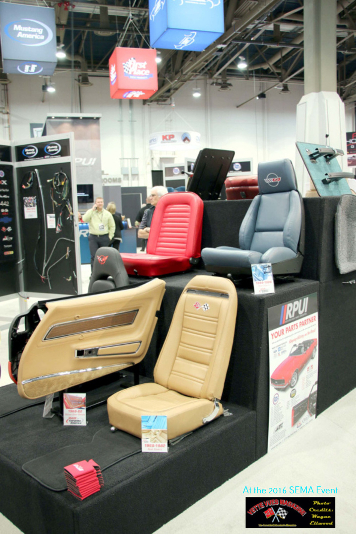 Corvette America Interior Pieces