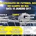 1° Campeonato de Futebol Society no Campo de Bia