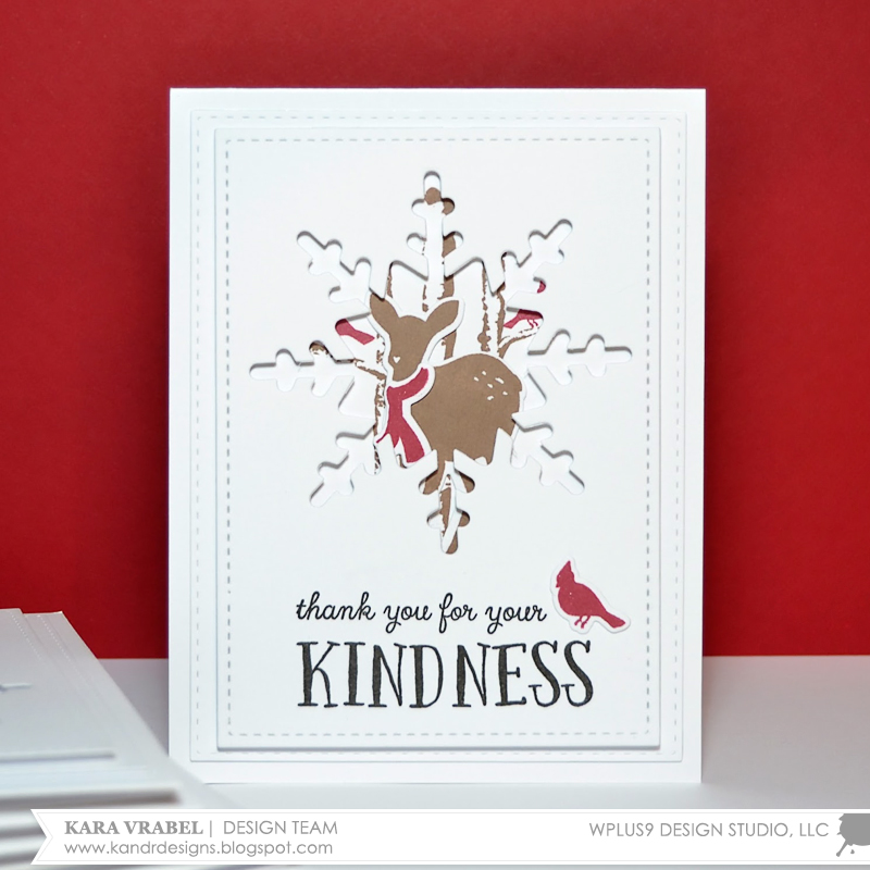 Stamp Away With Me: Christmas Thank You Cards With Kara