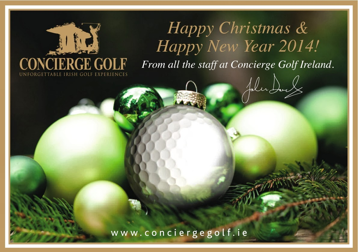 Seasons Greeting For 2014 From Concierge Golf Ireland