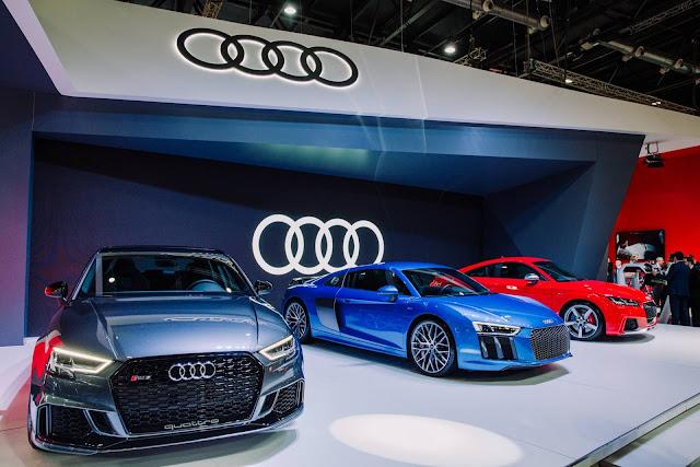 Audi Sport apresenta três modelos em Buenos Aires