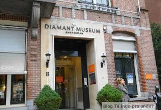 Museu do Diamante em Amsterdã