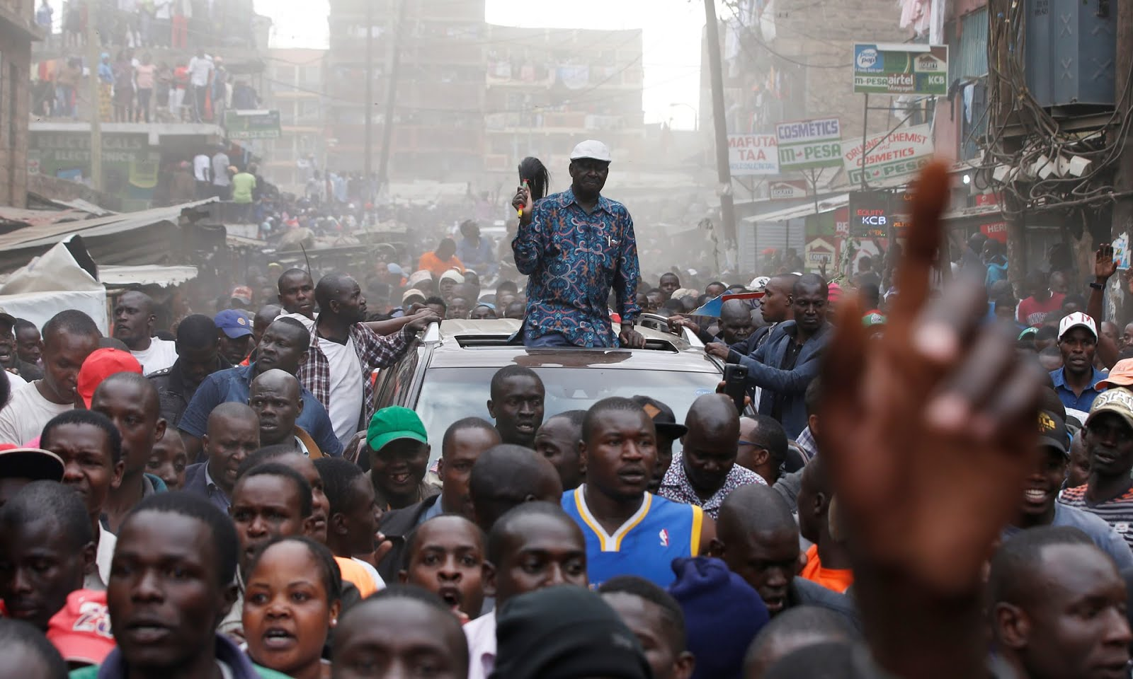 <Kenya opposition leader vows to &#039;remove&#039; Kenyatta government