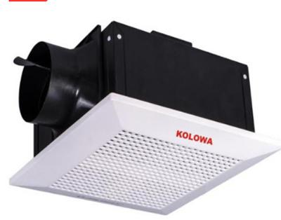Quạt thông gió âm trần nối ống kolowa kl10-18 ( đài loan )