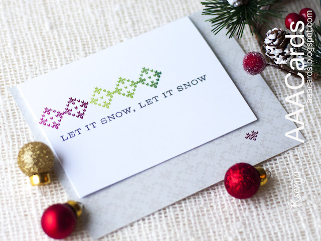 Christmas Flap Card Tutorial