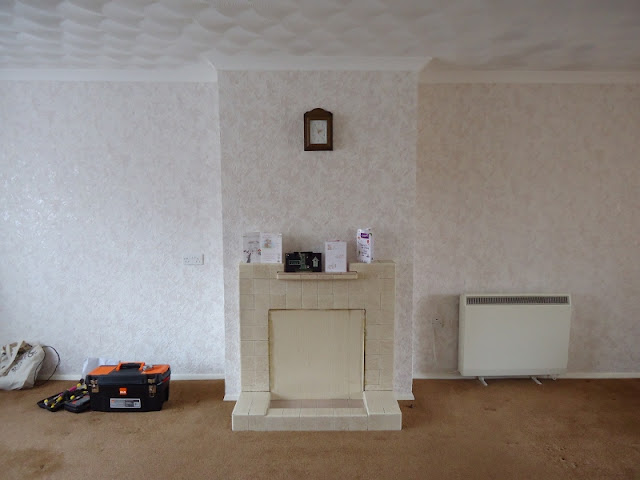 If you want to see the transformation of a dated old granny living room / lounge into a bright light modern space, click here for plenty of before and after photos!
