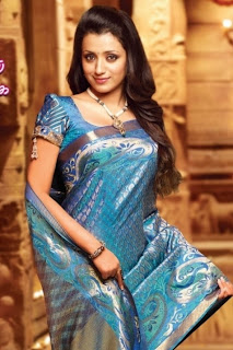 Trisha Krishnan Photo Shoot in Different Saree Collections