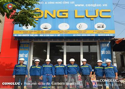 Địa chỉ lắp camera uy tín tại đường Văn Cao Hải Phòng