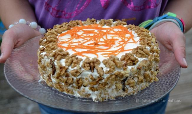 Tarta De Zanahoria Sin Azúcar Y Sin Gluten