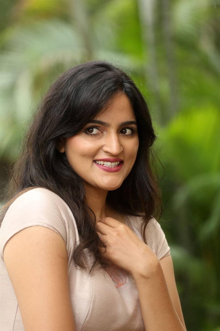 Indian Girl Sukrutha Wagle at Ramasakkani Seetha Movie Trailer