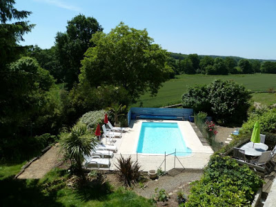 Our 'BLACK FRIDAY' deal for our Brittany holiday cottage near Baud with heated pool and gym