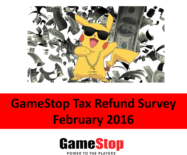 GameStop Tax Refund Survey Pikachu bling gold chain dollars sunglasses gangster